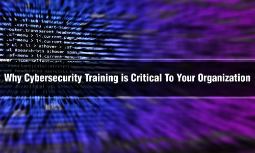 Why Cybersecurity Training is Critical To Your Organization